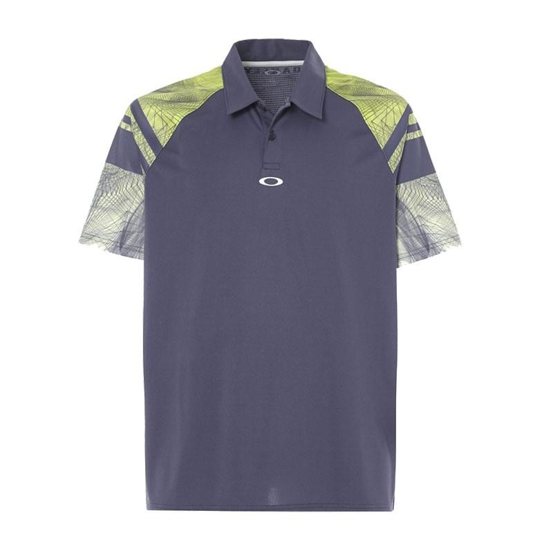Oakley Aero Sleeve Graphic Polo Shirts