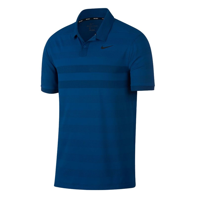 Nike Zonal Cooling Stripe Polo Shirts