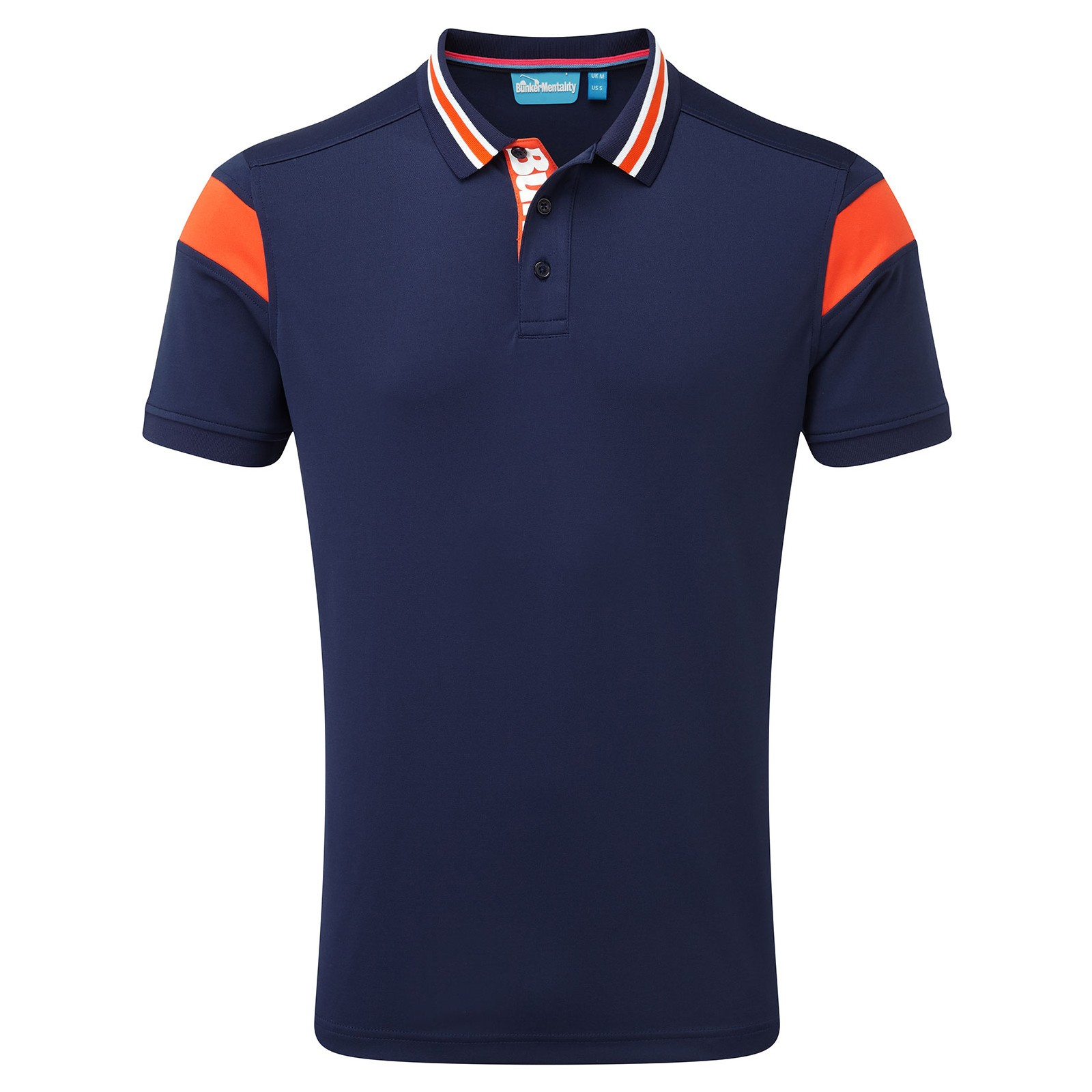 Bunker Mentality Sports Back Polo Shirts