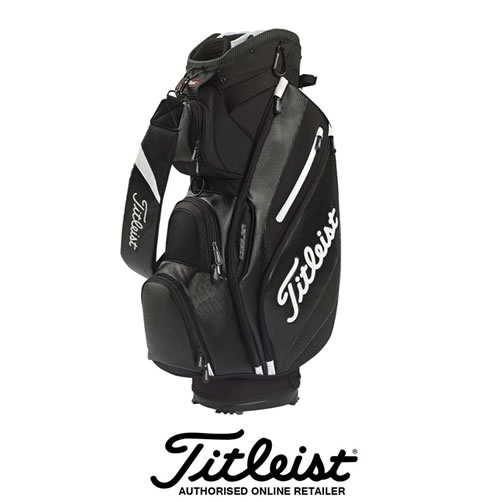 Titleist Reverse Cart bag in Black and White