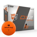 Wilson DX2 Optix Golf Balls Orange