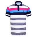 Bunker Mentality Bold Stripe Polo Shirts