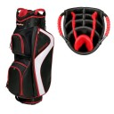 BagBoy C-500 Cart Bags - Black/Red