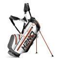 Sun Mountain H2NO Lite 14 Way Stand Bags - Grey/White/Blaze Orange 2017