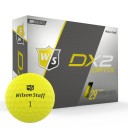 Wilson DX2 Optix Golf Balls Yellow