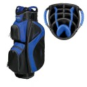 BagBoy C-500 Cart Bags - Black/Royal Blue/Silver