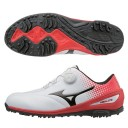 Mizuno-Nexlite-004-Boa-Golf-Shoes-White/Red
