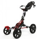 Clicgear 8.0 Golf Trolley - Silver/Red