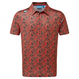Bunker Mentality Floral Polo Shirts