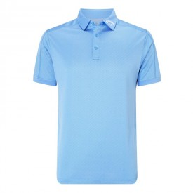 Callaway Denim Jacquard Polo Shirts