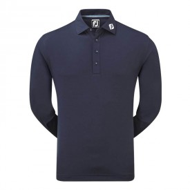 Footjoy Thermalite Smooth Pique Long Sleeve Polo Shirts