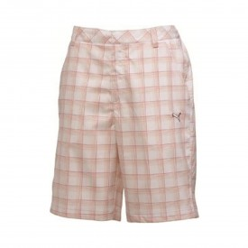 Puma Junior Golf Plaid Tech Shorts