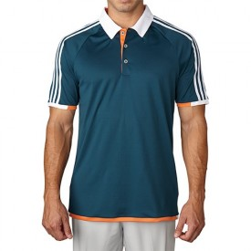Adidas Climachill Competition 3 Stripe Polo Shirts