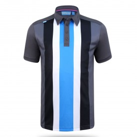 Bunker Mentality Five Stripe Tech Polo