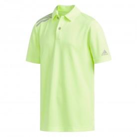 adidas Tournament 3-Stripe Polo Shirt