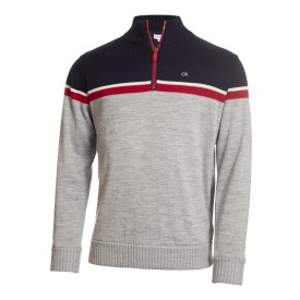 Calvin Klein Golf Compass Lined Sweater