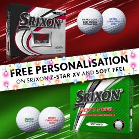 Christmas Personalisation - Srixon Golf Balls