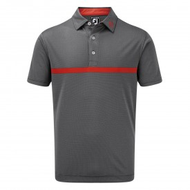 Footjoy Engineered Nailhead Jacquard Polo