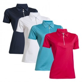 Backtee Ladies Embossed Polo Shirts