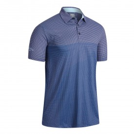 Callaway Mini Printed Chev Polo Shirts