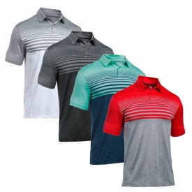Under Armour Coolswitch Upright Stripe Polo Shirts