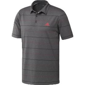 adidas Ultimate Heather Stripe Polo Shirts