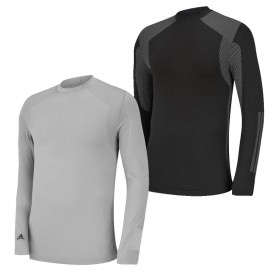 Adidas Climawarm 3 Stripe LS Mock Baselayers