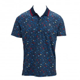 Original Penguin Conversational Printed Polo Shirts