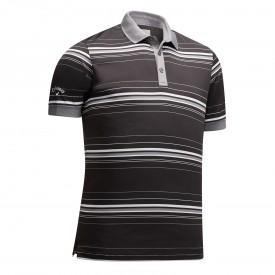 Callaway 3 Colour Stripe Polo Shirts