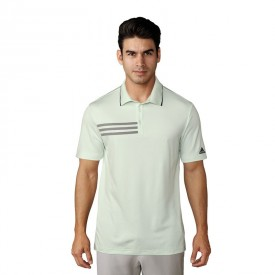 adidas 3-Stripe Mesh Collar Polo Shirts