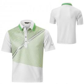 Mizuno Solar Cut Print Polo Shirts