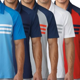 Adidas Climacool 3 Stripes Competition Polo Shirts