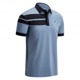 Callaway Embossed Chev Block Polo