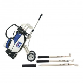 PGA Tour Desktop Golf Bag & Pen Set