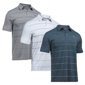 Under Armour Coolswitch Pivot Stripe Polo Shirts