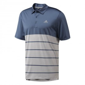 adidas Ultimate 365 Heather Block Polo Shirts
