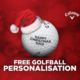 Christmas Personalisation - Callaway Golf Balls