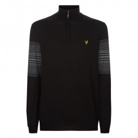 Lyle & Scott Stripe 1/4 Zip Pullover
