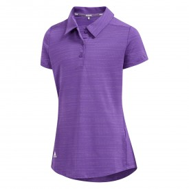 adidas Junior Girls Microdot Polo