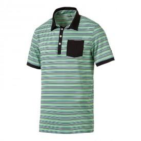 b41f7198d7ce Puma Tailored Pocket Stripe Polo Shirts