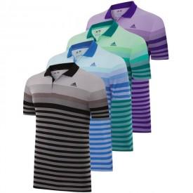 Adidas Climacool Birdseye Stripe Jacquard Polos