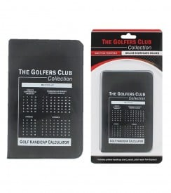 Golfers Club Deluxe Score Card Holder