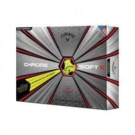 Callaway Chrome Soft X Truvis Golf Balls