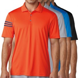 Adidas Climacool 3-Stripes Club Crestable Polo Shirts