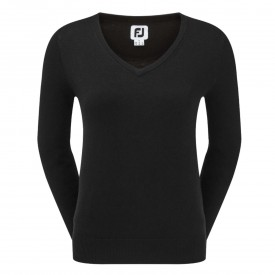 FootJoy Womens Wool Blend V-Neck Pullovers