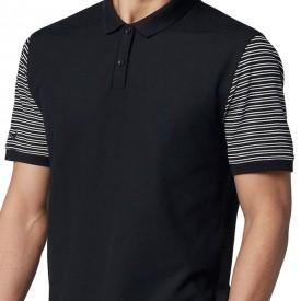Nike Dry Pique Classic Stripe Polo Shirts