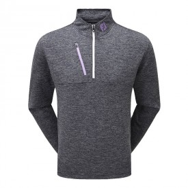 Footjoy Heather Pinstripe Chill-Out Pullovers
