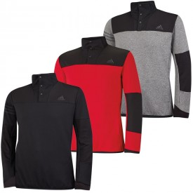 Adidas Climaheat Hybrid Half Zip Shell Pullovers