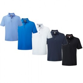 Footjoy Stretch Lisle Solid Polo