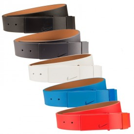 Nike Sleek Modern Tonal Plaque Belt